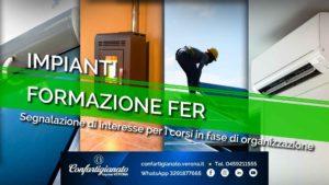 IMPIANTI – Corso di aggiornamento per responsabili tecnici con qualifica FER (fonti rinnovabili): segnalaci il tuo interesse